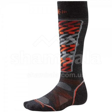 Носки мужские Smartwool - PhD Ski Light Pattern Charcoal, р.XL (SW SW017.003-XL)
