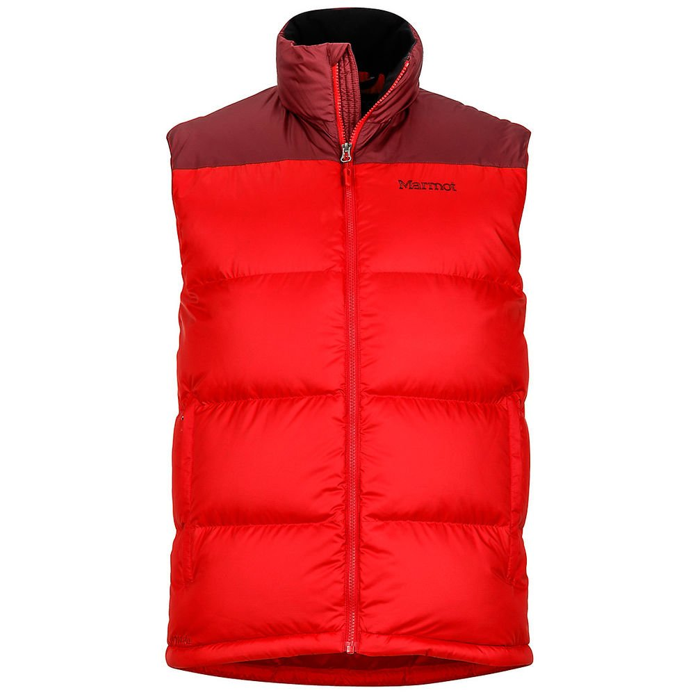 Жилет мужской Marmot - Guides Down Vest, Team Red/Port, р.M (MRT 73110.6935-M)