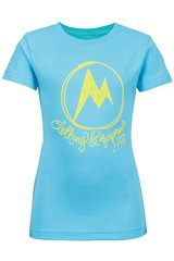 Футболка для девочки Marmot - Girl's Heirloom Tee SS Light Aqua, L (MRT 58490.2569-L)