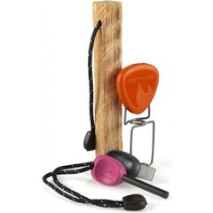Дрова, огниво, вилка для барбекю Light My Fire - FireLighting Kit Fuchsia/Orange (LMF 50679340)