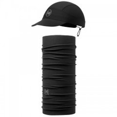 Комплект Buff - UV Combo Caps Pack Run, Solid Black (BU 113702.999.10.00 / 100)
